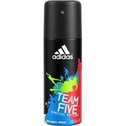 ADIDAS Дезодорант-спрей для мужчин Team Five 150 мл
