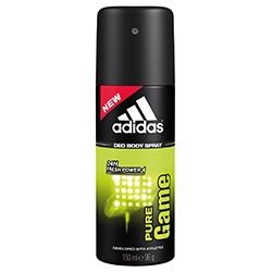 ADIDAS Дезодорант-спрей для мужчин Pure Game 150 мл