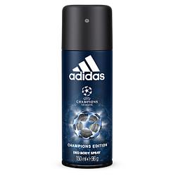 Купить ADIDAS Дезодорант-спрей для мужчин UEFA Champions League Champions Edition 150 мл