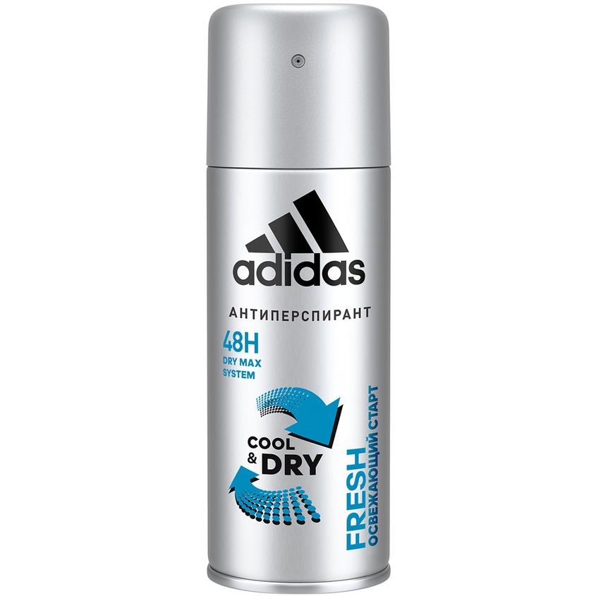 ADIDAS Дезодорант-спрей для мужчин CoolDry Fresh.