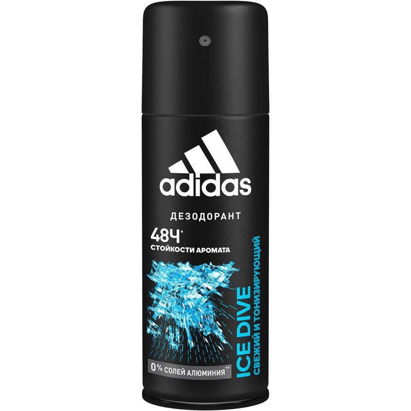 ADIDAS Дезодорант-спрей для мужчин Ice Dive.
