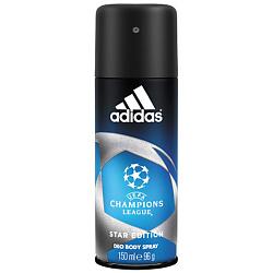 ADIDAS Дезодорант спрей для мужчин UEFA Champions League Star Edition 150 мл