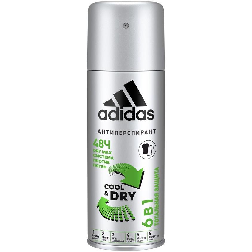 ADIDAS Дезодорант-спрей для мужчин CoolCare 6 In 1.