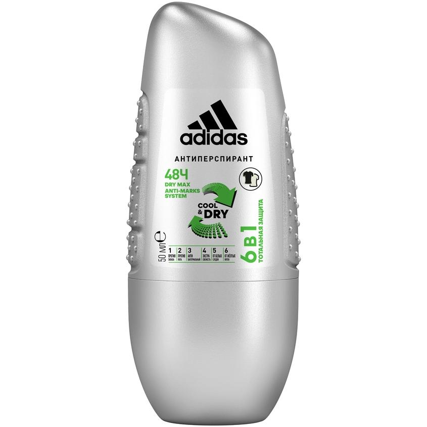 Купить ADIDAS Роликовый дезодорант-антиперспирант для мужчин Cool&Care 6 In 1