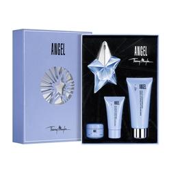 MUGLER Подарочный набор Angel Парфюмерная вода 25 мл + Лосьон для тела 100 мл + Гель для душа 30 мл + Крем для тела 15 мл