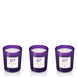 MUGLER Набор парфюмированных мини-свечей Alien 3 свечи х 70 г