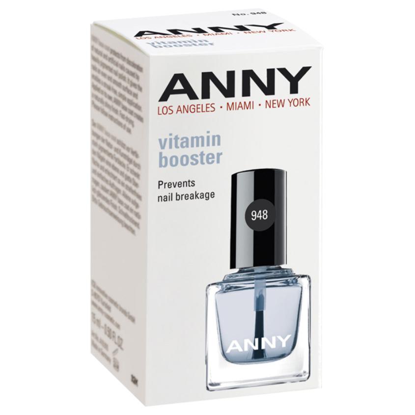 ANNY Укрепляющее средство для предупреждения растрескивания ногтей с витаминами Е и В5