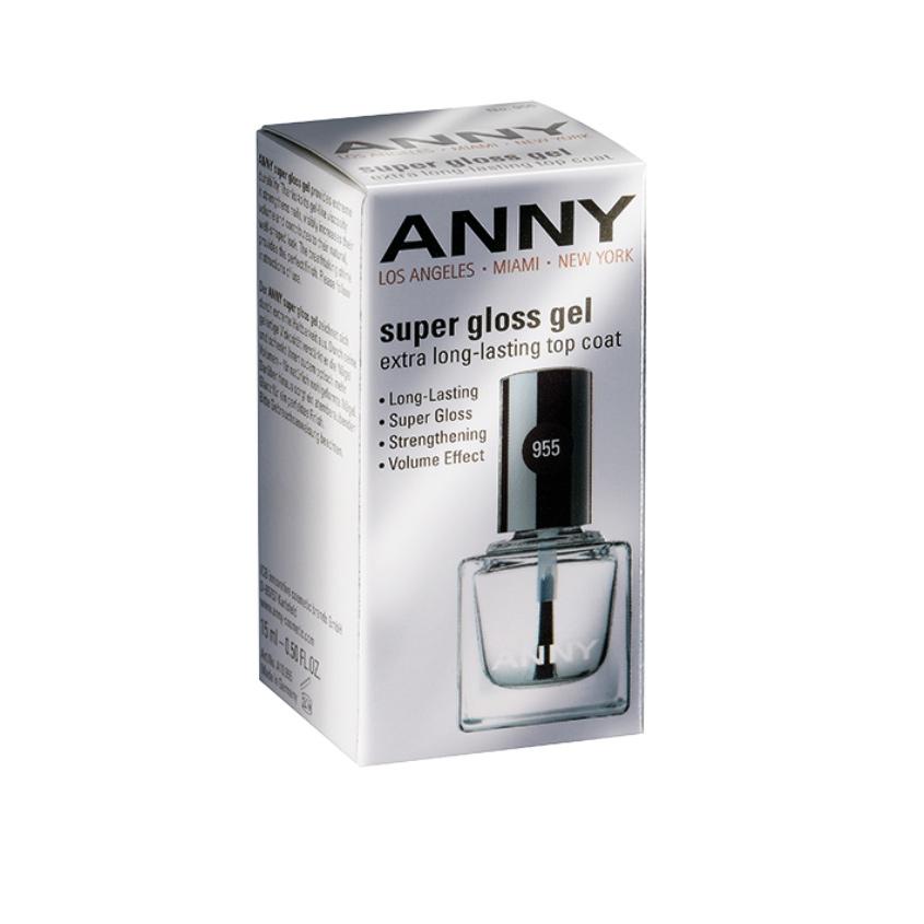 ANNY Закрепляющее покрытие-гель для ногтей Супер блеск