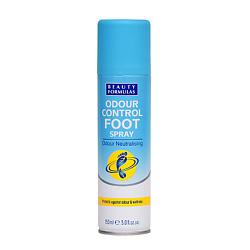 Купить BEAUTY FORMULAS Спрей для ног нейтрализующий запах 150 мл