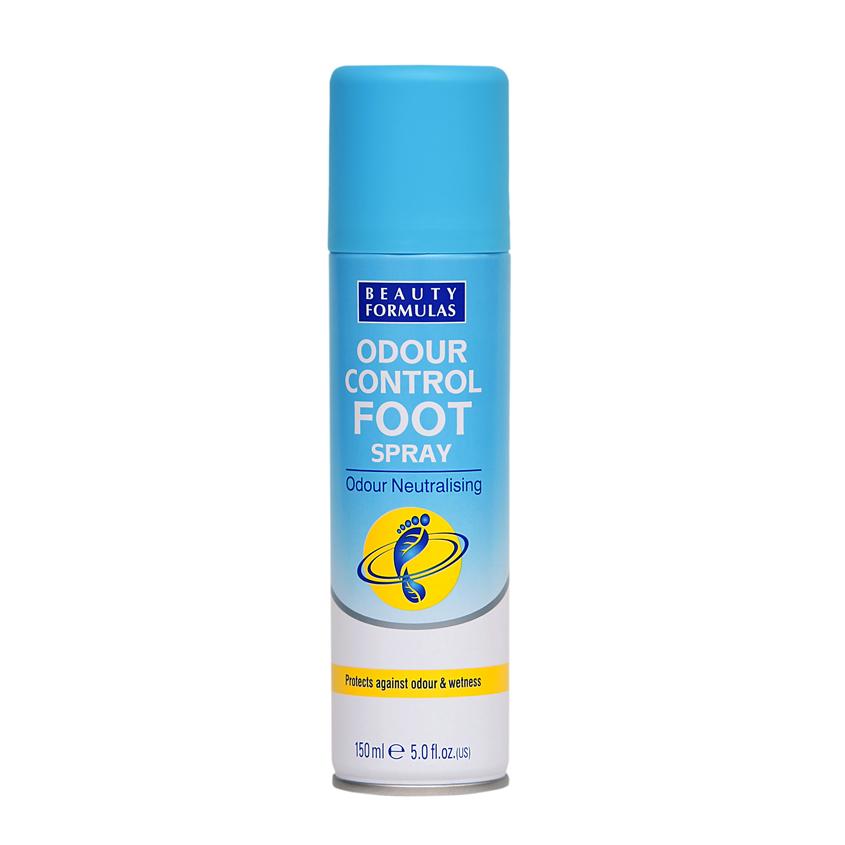 BEAUTY FORMULAS Спрей для ног нейтрализующий запах