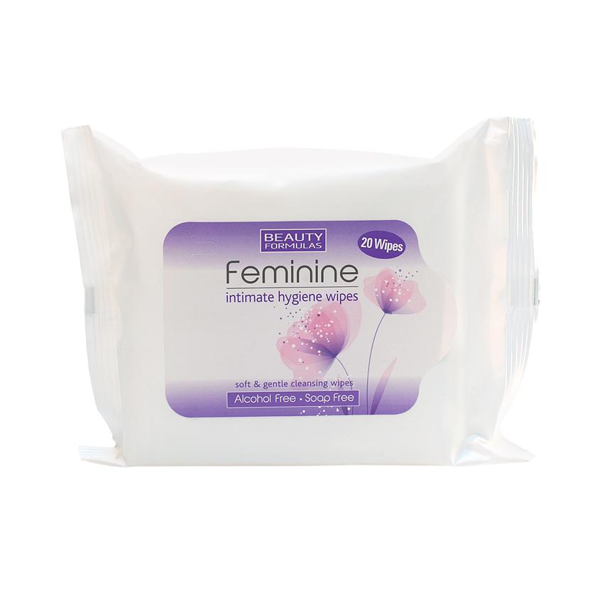 Купить BEAUTY FORMULAS Салфетки для женской интимной гигиены