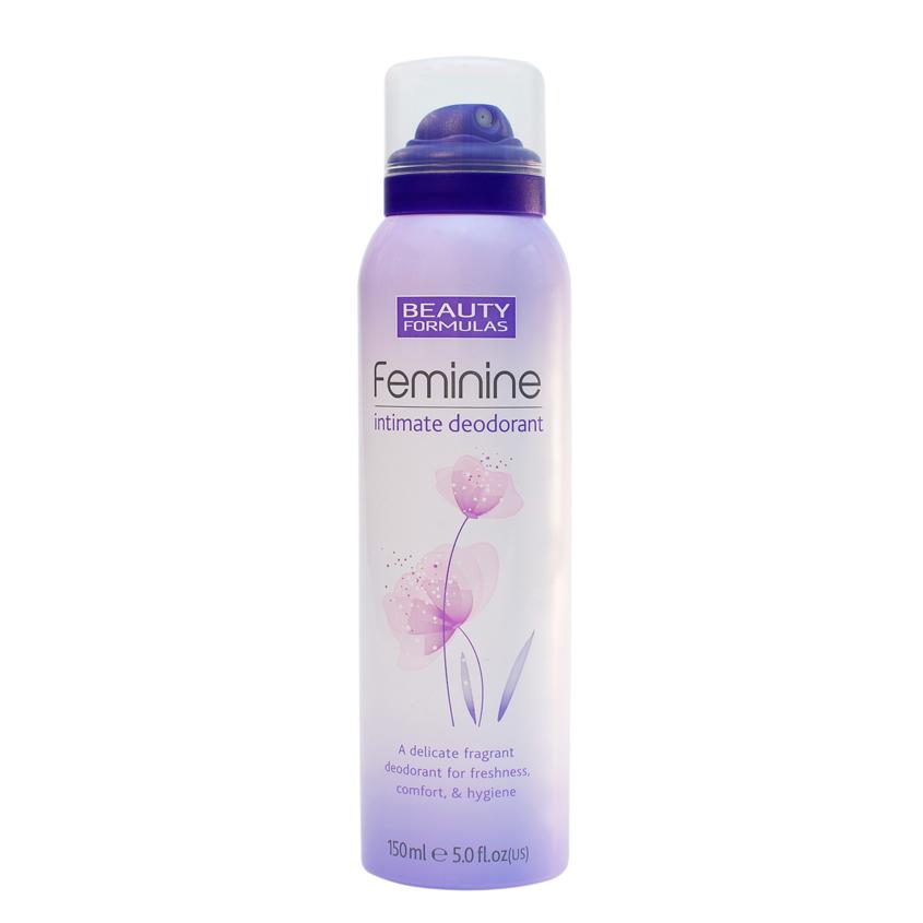 BEAUTY FORMULAS Дезодорант для женской интимной гигиены  - Купить