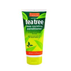 BEAUTY FORMULAS Кондиционер для волос глубокого действия Чайное дерево 200 мл levrana гель для умывания чайное дерево гидрофильный 200 мл