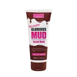 BEAUTY FORMULAS Маска для лица грязевая для глубокого очищения 100 мл