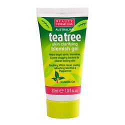 BEAUTY FORMULAS Гель устраняющий дефекты кожи Чайное дерево 30 мл гели pattrena гель для душа паттрена чайное дерево