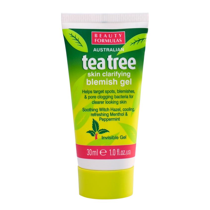 Купить BEAUTY FORMULAS Гель устраняющий дефекты кожи Чайное дерево