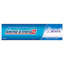 BLEND-A-MED Зубная паста 3D White Medic Delicate 100 мл