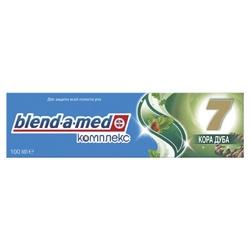 BLEND-A-MED Зубная паста Complete 7 Кора Дуба 100 мл