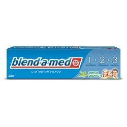 BLEND-A-MED Зубная паста 3-Эффект Мягкая Свежесть 50 мл
