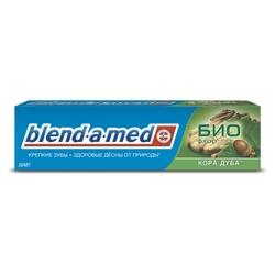 BLEND-A-MED BLEND-A-MED Зубная паста Кора Дуба 100 мл эубикор маска сухая для лица кора дуба 4 0 8 саше