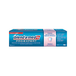 BLEND-A-MED Зубная паста ProExpert Снижение чувствительности и бережное отбеливание Мята 100 мл