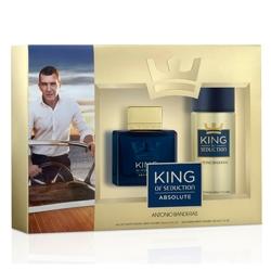 ANTONIO BANDERAS Подарочный набор King Of Seduction Absolute