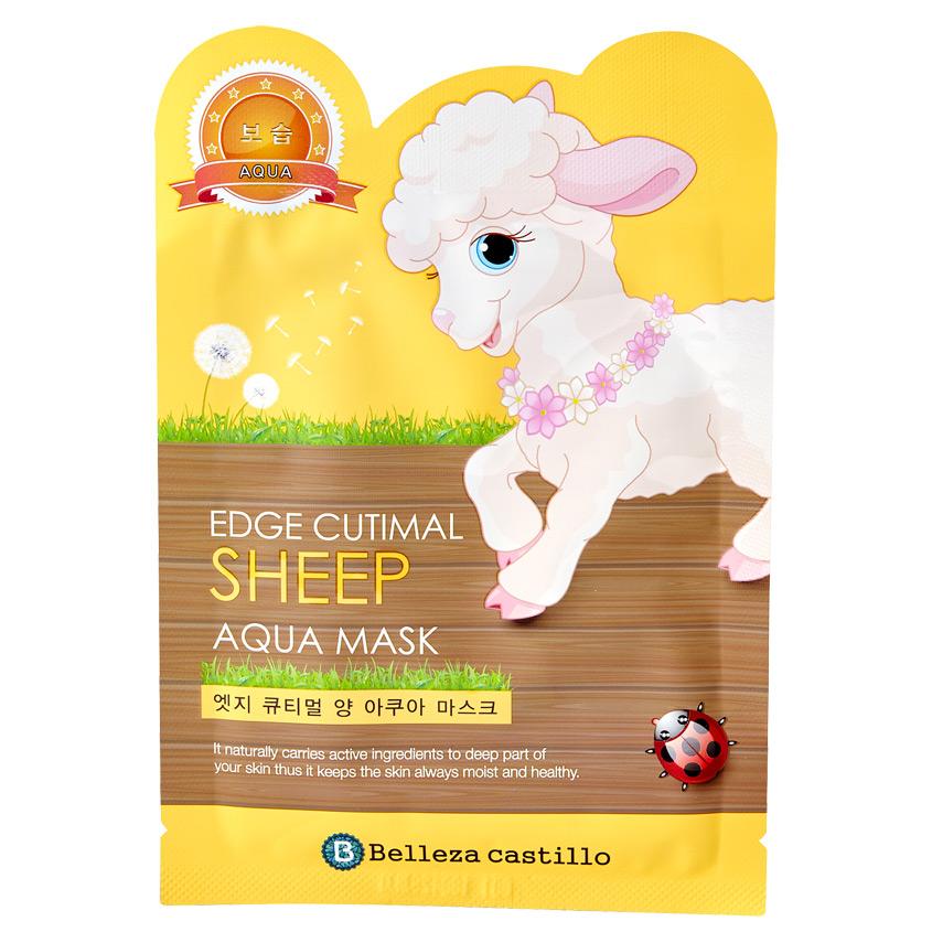 BELLEZA CASTILLO Маска для лица с защитным эффектом Sheep фото