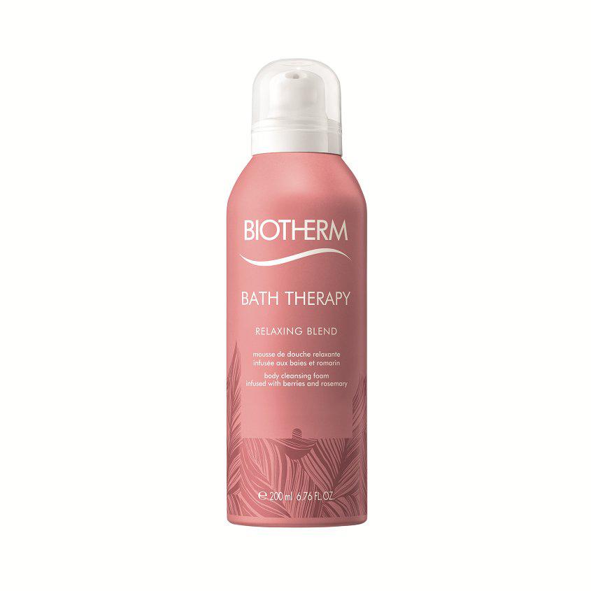 BIOTHERM Пена для душа Расслабляющая ароматерапия ягоды и розмарин