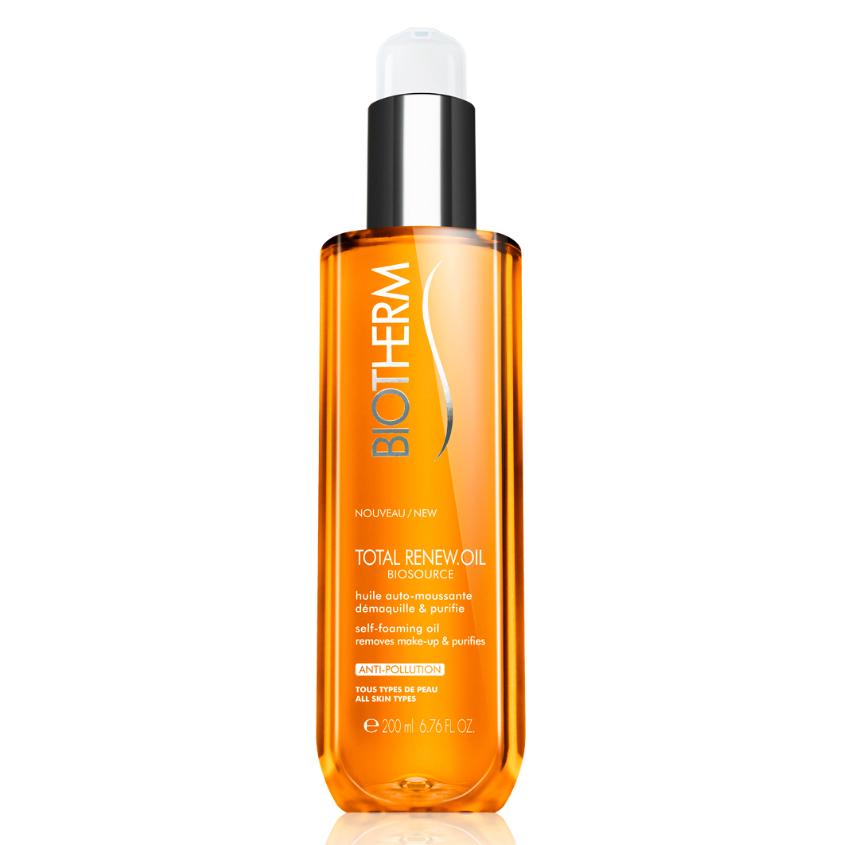 BIOTHERM Масло для снятия макияжа Biosource Total Renew Oil