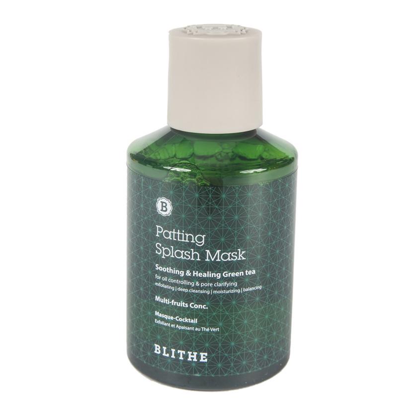 BLITHE Сплэш-маска для лица восстановление Смягчающий и заживляющий Зеленый Чай