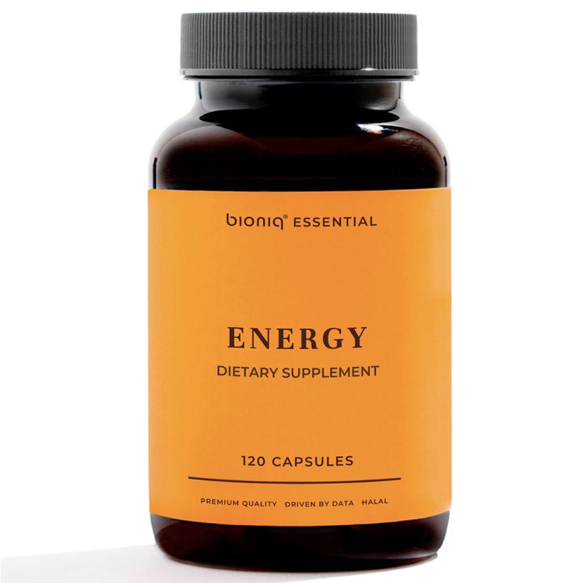 bioniq essential ЭНЕРДЖИ – ENERGY витамины группы B, аминокислоты. Мультикомплекс для повышения тонуса и физической выносливости