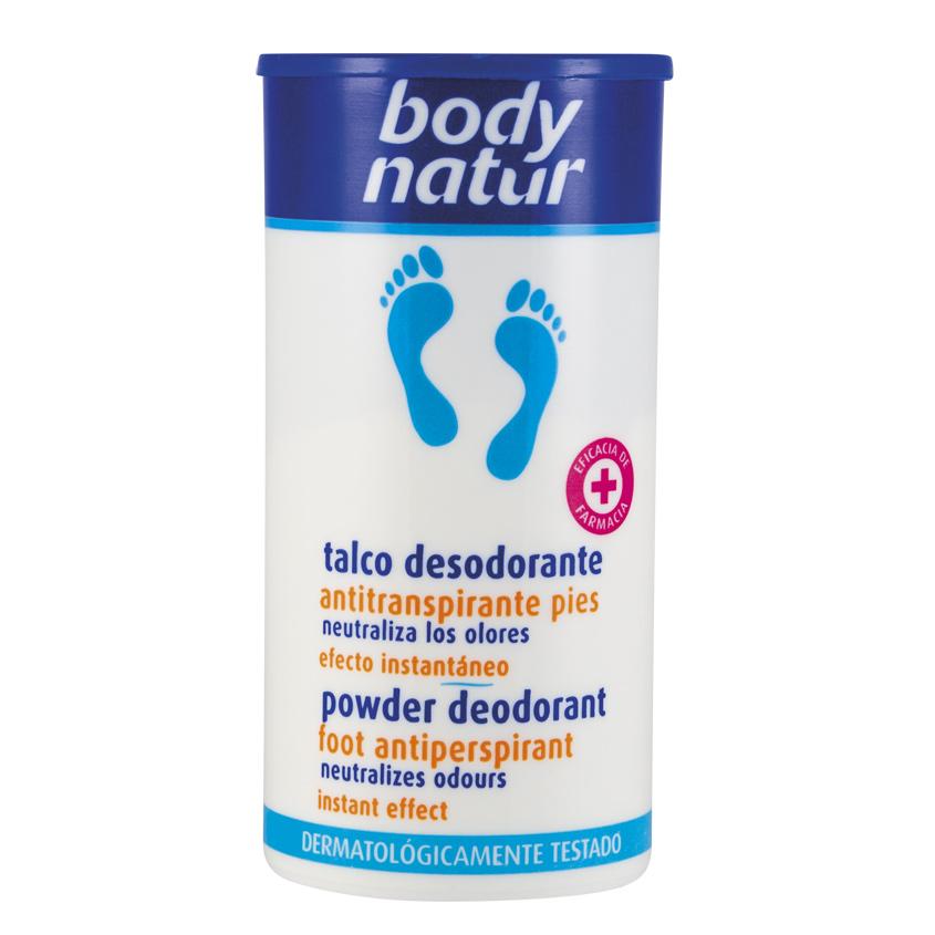 BODY NATUR Дезодорирующая пудра-антиперспирант