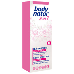 BODY NATUR Нежное средство для интимной гигиены для атопической кожи