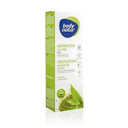 Купить BODY NATUR Крем для депиляции увлажняющий для тела для нормальной и сухой кожи с Экстрактом чая матча 100 мл