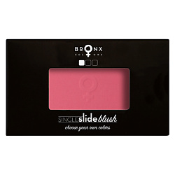 BRONX COLORS Румяна для лица Single Slide Blush PINK LOTUS, 4 г какую пудру или румяна