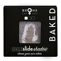 BRONX COLORS Тени для век Single Slide Baked Shadow VENUS, 2 г bronx colors бронзирующая пудра studioline light 6 г