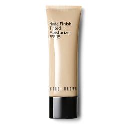 BOBBI BROWN Увлажняющий крем для лица с оттеночным эффектом СЗФ15 Nude Finish Tinted Moisturizer SPF 15 Light Tint