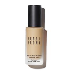Купить BOBBI BROWN Устойчивое тональное средство Skin Long-Wear Weightless Foundation SPF 15 Natural Tan 30 мл