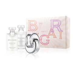 Купить BVLGARI Подарочный набор Omnia Crystalline Туалетная вода, спрей 40 мл + Лосьон для тела 40 мл + Гель для душа 40 мл
