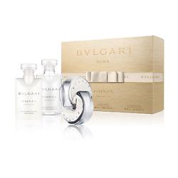 BVLGARI Подарочный набор Omnia Crystalline Туалетная вода, спрей 40 мл + Лосьон для тела 40 мл + Гель для душа 40 мл