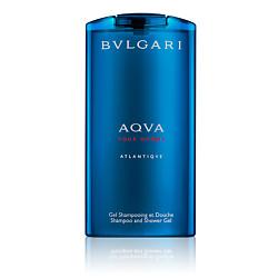 BVLGARI Шампунь и гель для душа Aqva Pour Homme Atlantiqve 200 мл