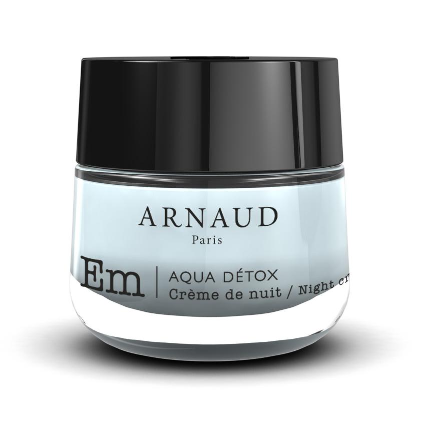 Купить ARNAUD PARIS Крем для лица ночной AQUA DETOX для сухой и чувствительной кожи