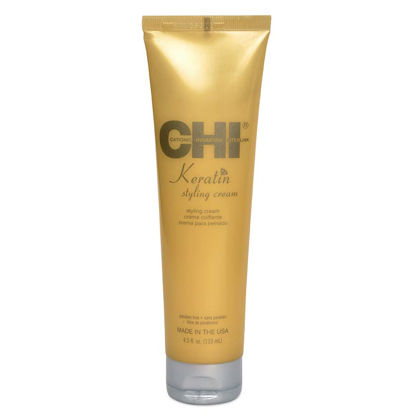CHI Крем для укладки волос моделирующий с кератином Styling Cream  - Купить