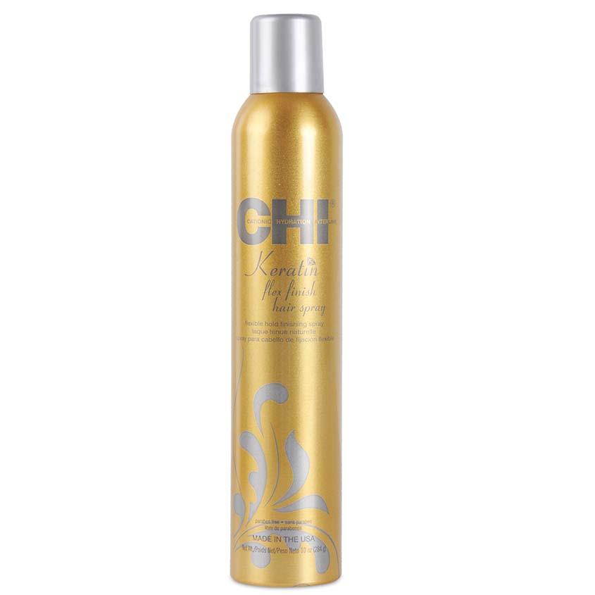 Купить CHI Лак для укладки волос с кератином Средняя фиксация Keratin Flex Finish Hair Spray