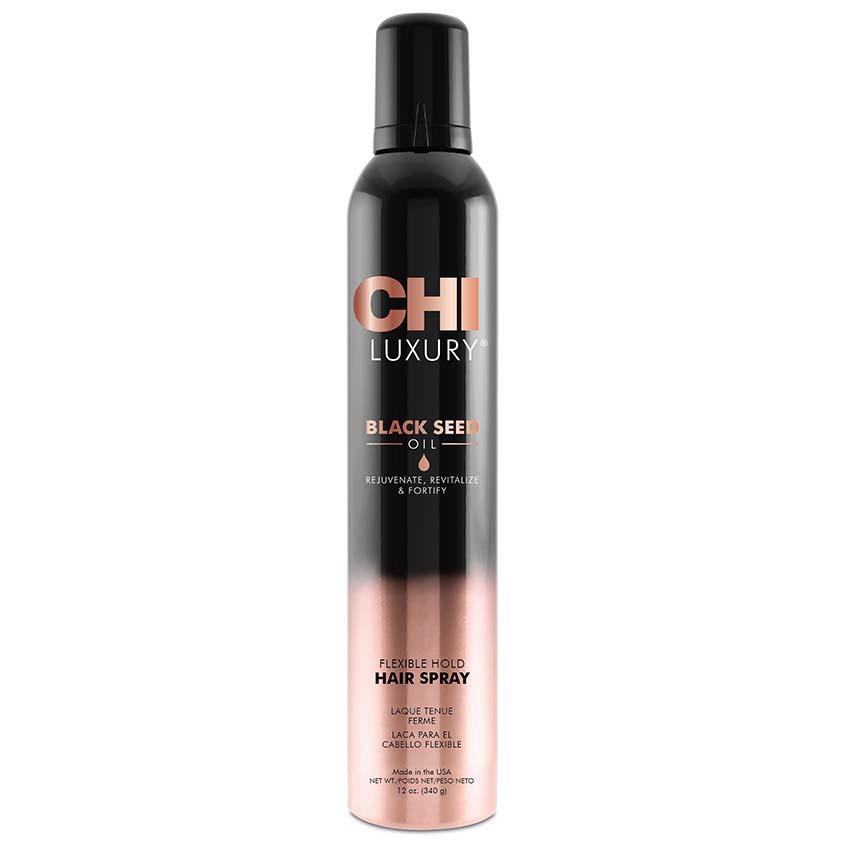 Купить CHI Лак для волос CHI Luxury с маслом семян черного тмина