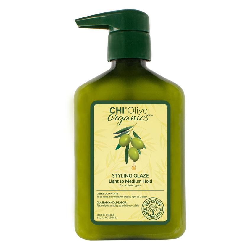 CHI Гель для укладки волос средней и легкой фиксации с шелком фото