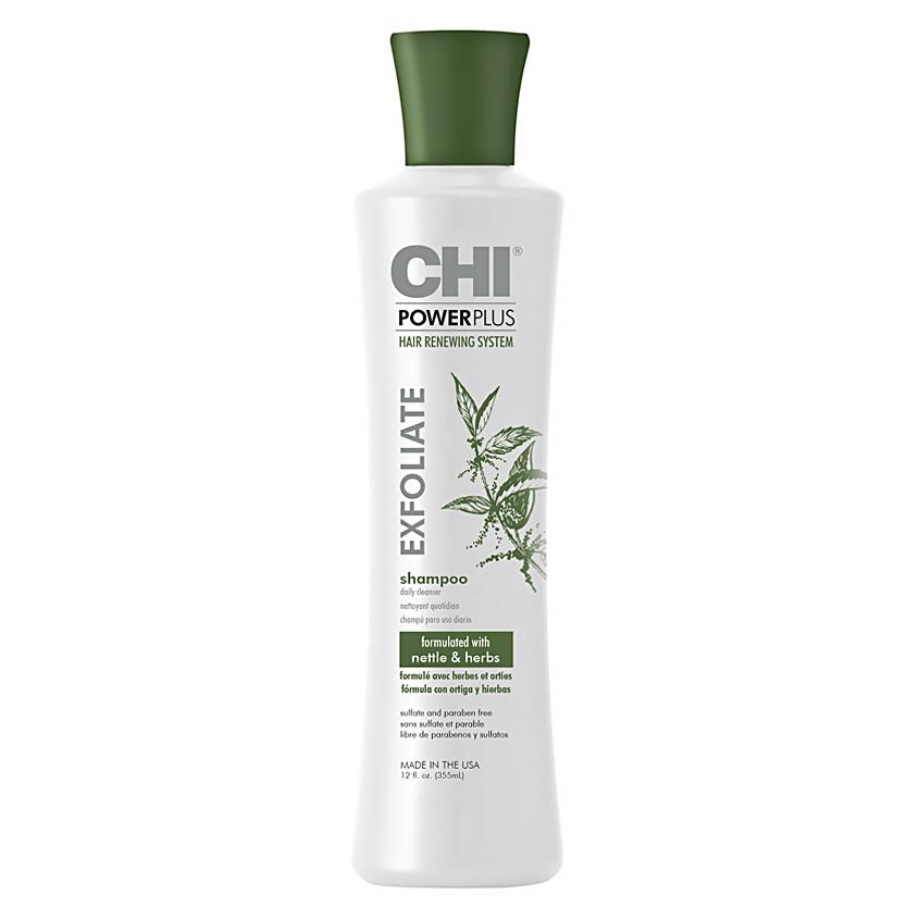 CHI Шампунь для волос отшелушивающий Power Plus
