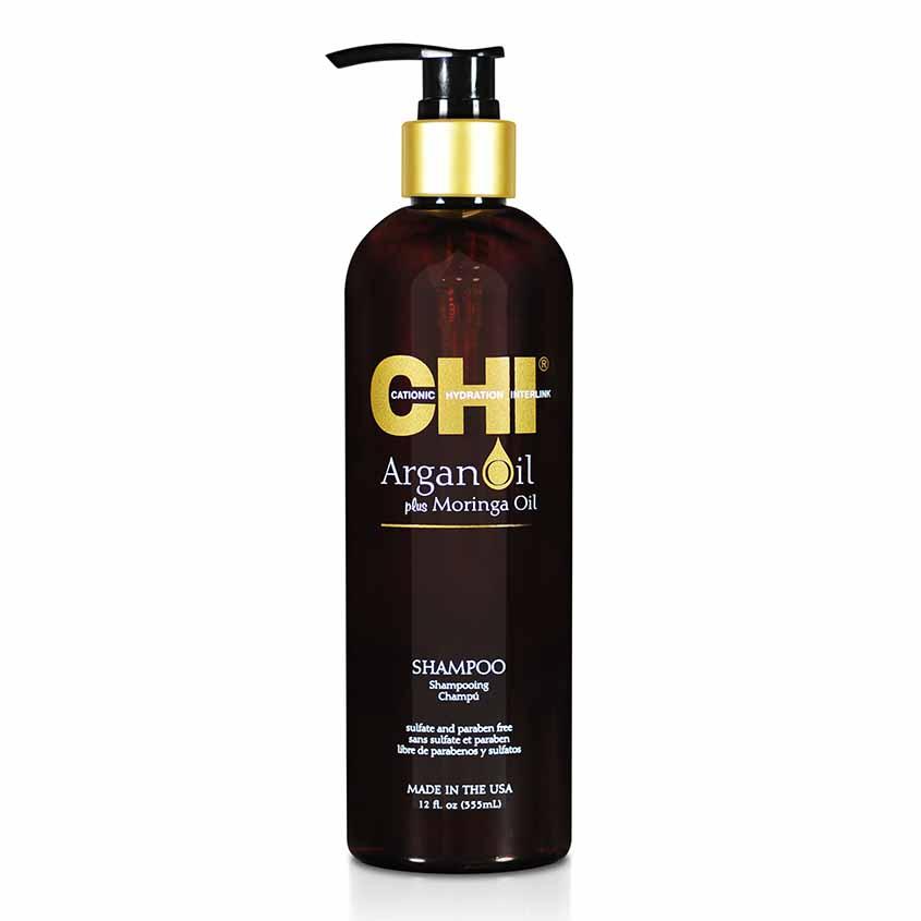 Купить CHI Шампунь с маслами арганы и моринги Argan Oil Shampoo