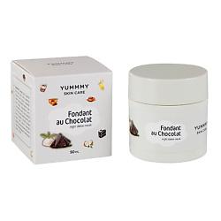 Купить YUMMMY Крем-маска детокс ночная Шоколадный фондан 50 МЛ