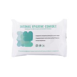 LOREN COSMETIC Влажные салфетки для интимной гигиены INTIMAL HYGIENE COMFORT 15 ШТ дива салфетки блэк для интимной гигиены 15